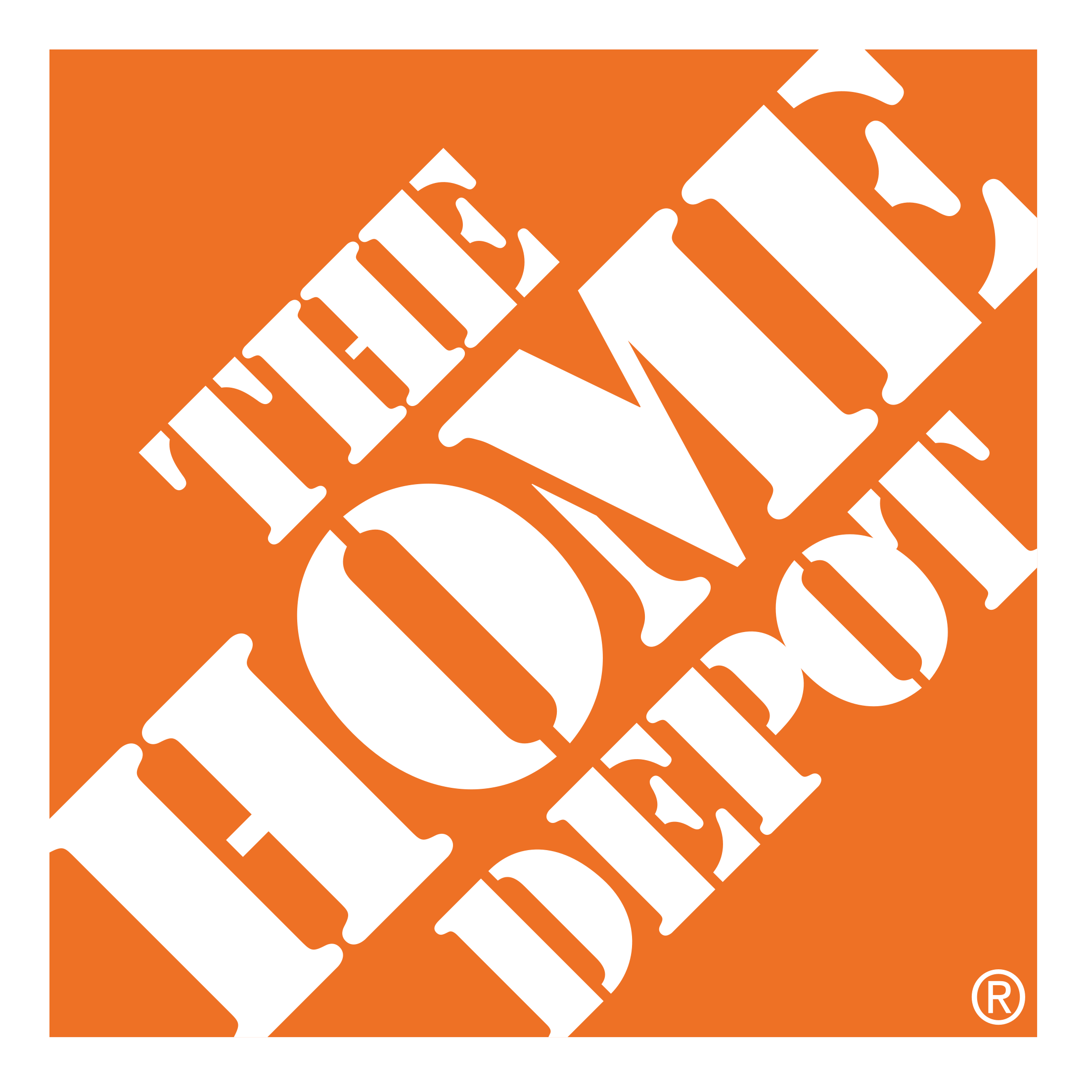 Home-Depot-Logo and partners of Think Construction Services