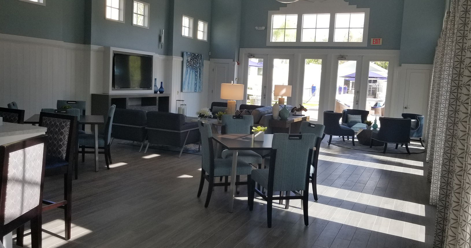 Arbos at Carrollwood guest lobby