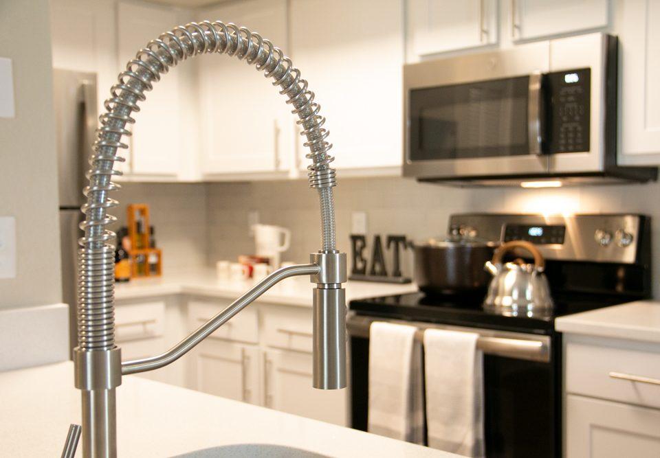 Arium Apartment renovated kitchen