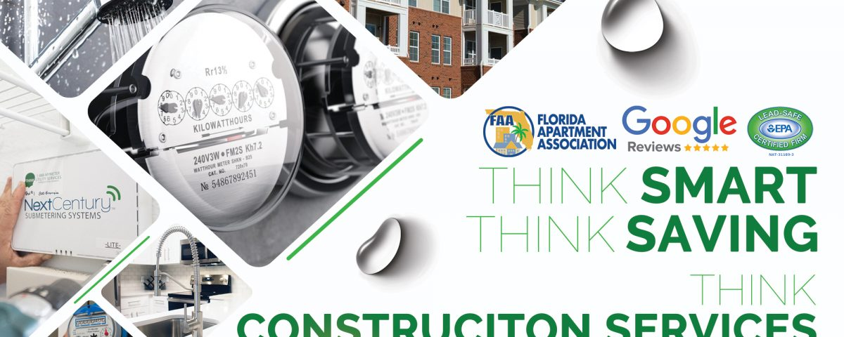 Think Construction Services Graphic Advertisement
